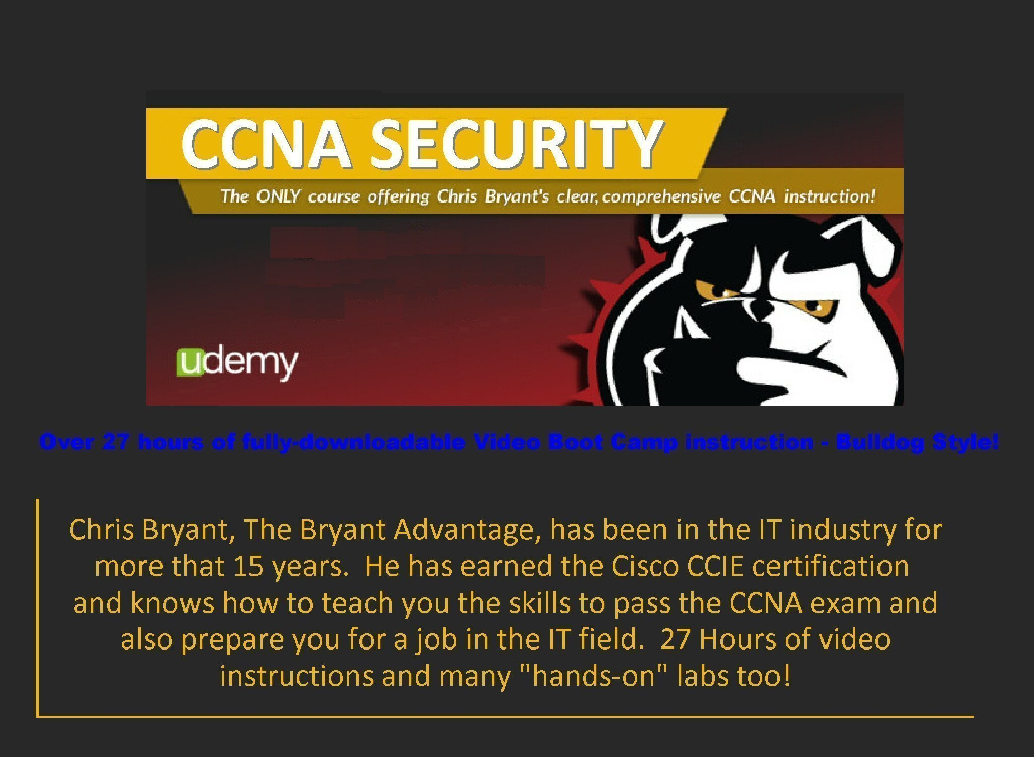CCNA Training Boot Camp with 4 Certifications - Infosec